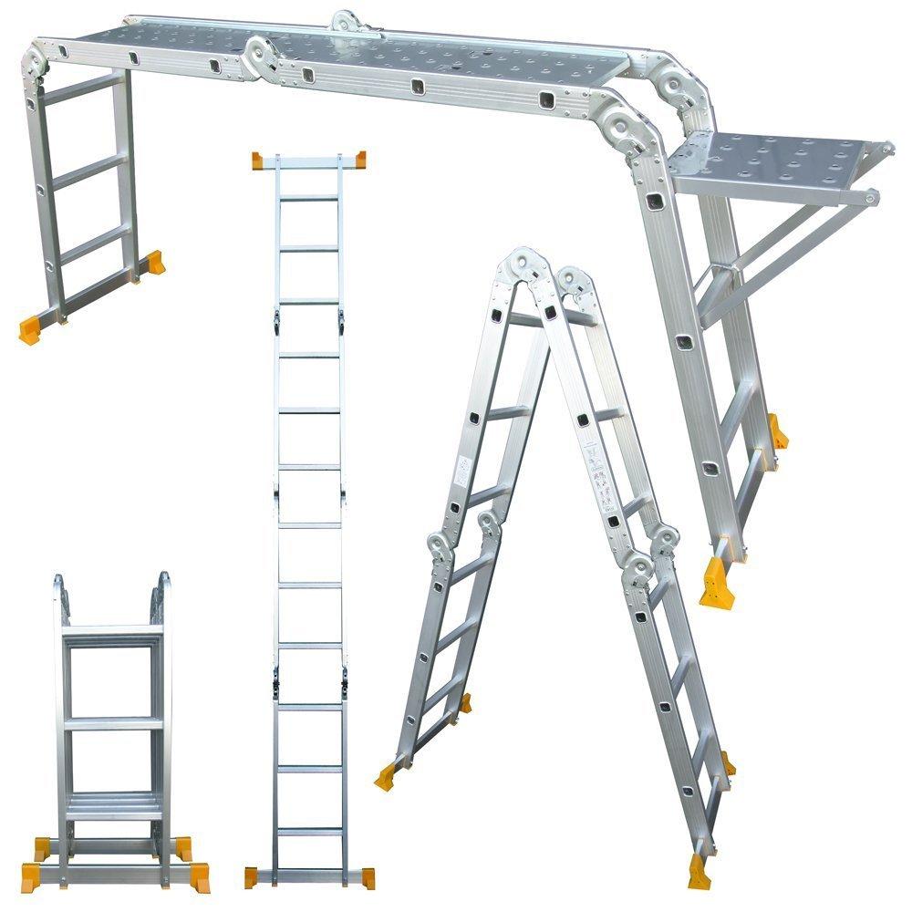 Buy Multi Purpose Aluminium Ladder 4 X 4 15ft In Sri