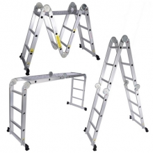 Multi Purpose Aluminium Ladder (4 x 4) – 15ft