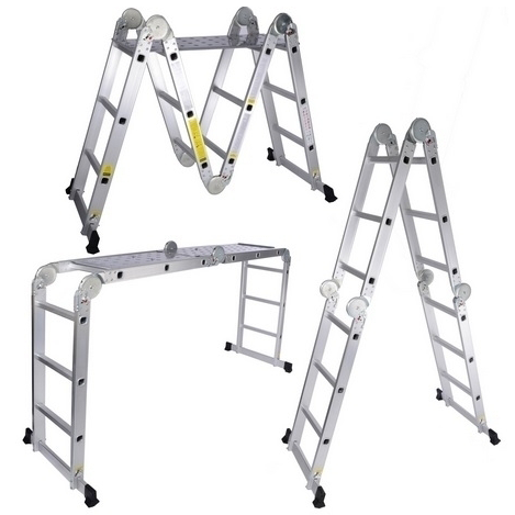 Multi Purpose Aluminium Ladder (6 x 4) - 24ft