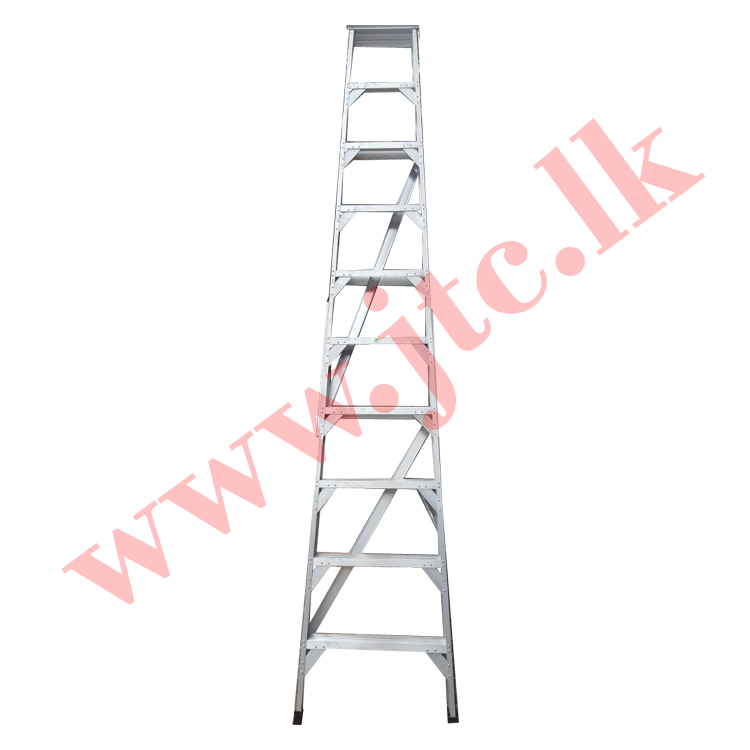 Buy 10 Feet Heavy Duty Aluminium Ladder In Sri Lanka