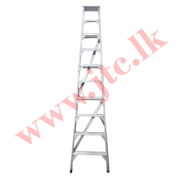 12 Feet Aluminium Ladder with Extra Brazing