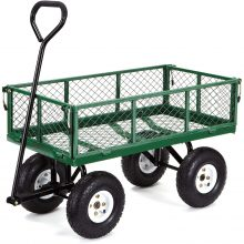 Hand Wagon Trolley With Removable Sides